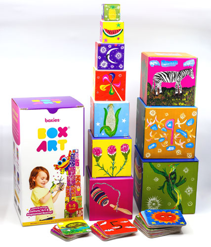 products boxie art